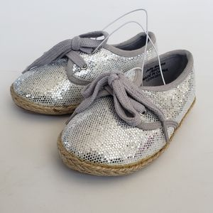 Jelly Beans Silver bling shoes little girls
